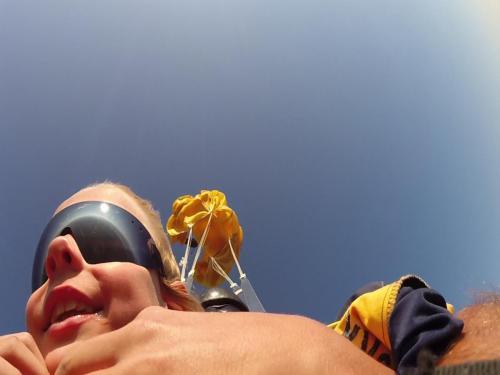Fallschirm öffnen
